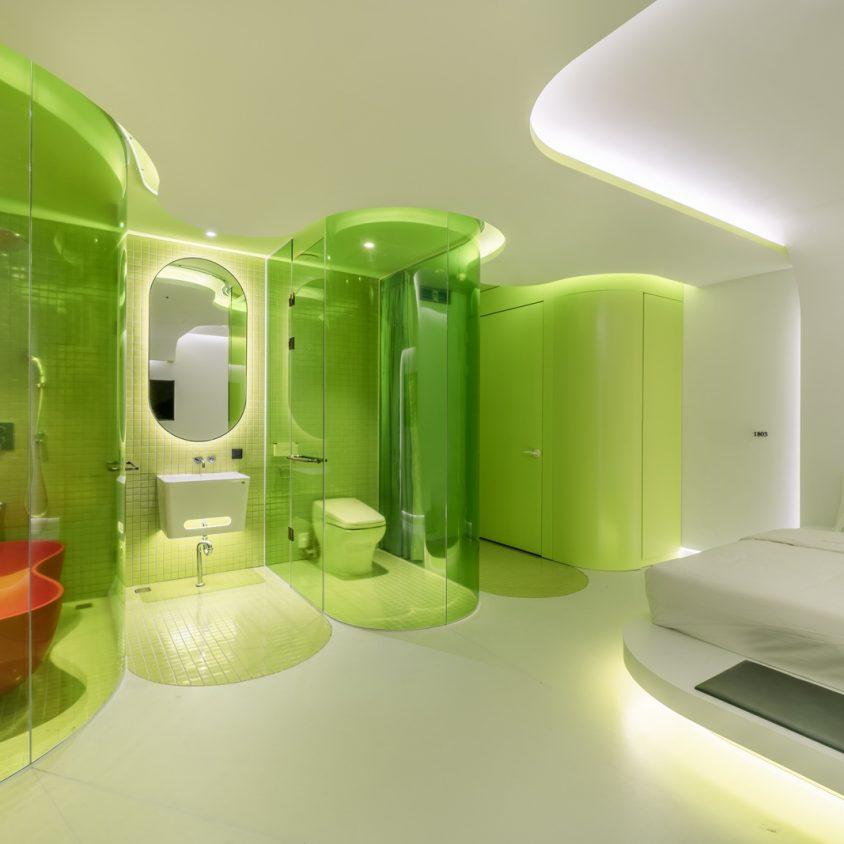 Lime Flavor, una suite futurista 13