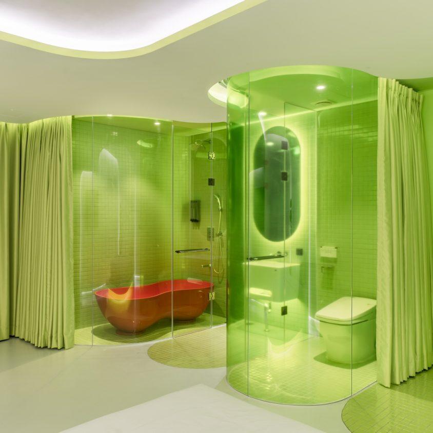 Lime Flavor, una suite futurista 14