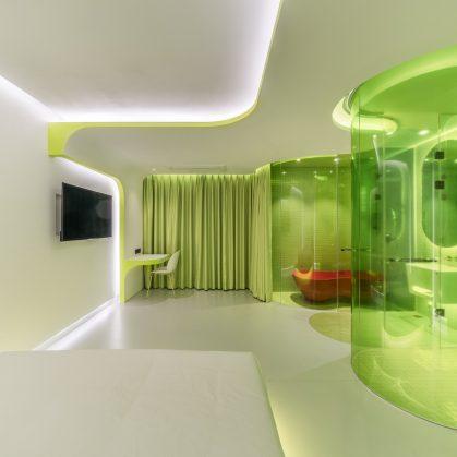 Lime Flavor, una suite futurista 16