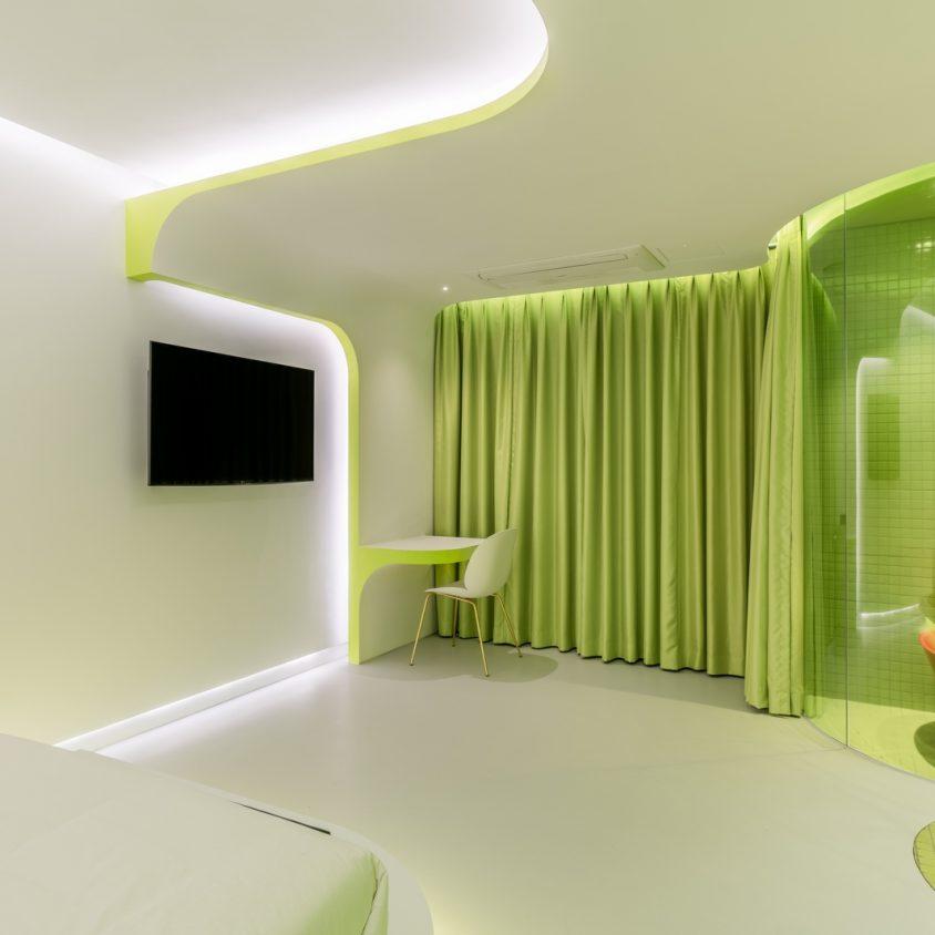 Lime Flavor, una suite futurista 15