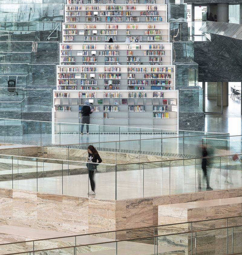 La Biblioteca Nacional de Qatar quedó inaugurada 26