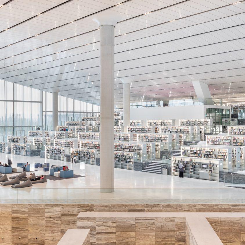 La Biblioteca Nacional de Qatar quedó inaugurada 28