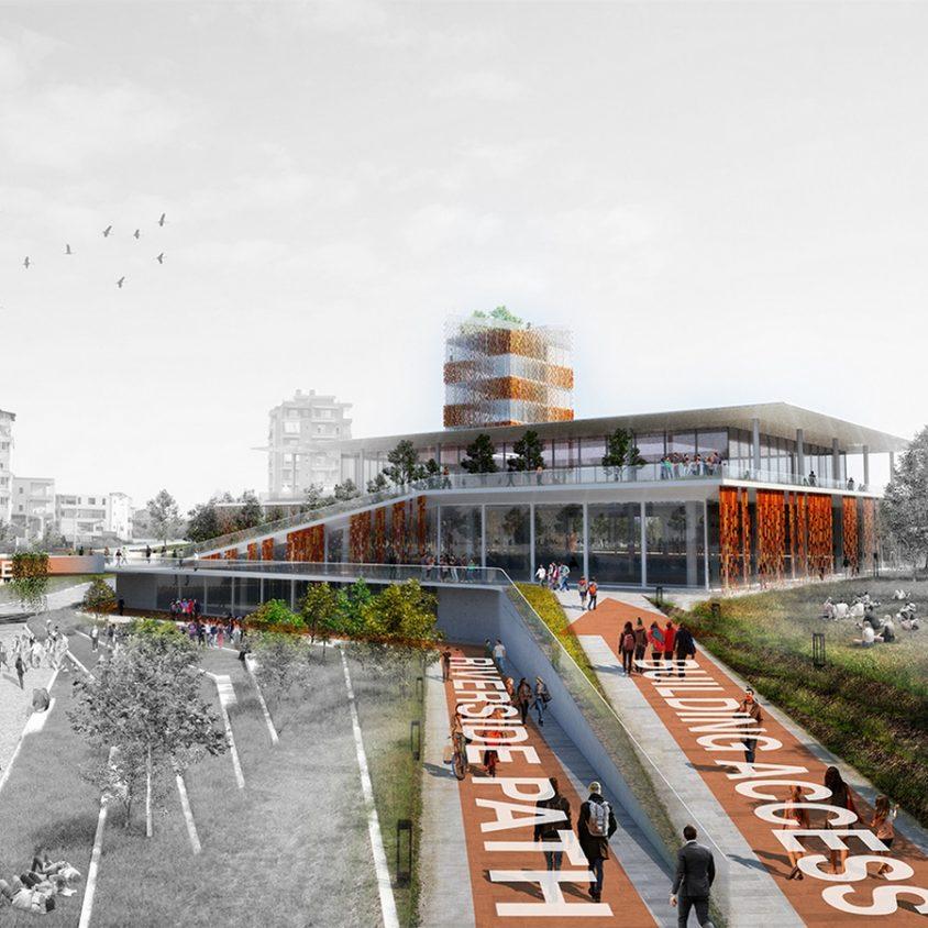 Regeneración urbana en la ciudad de Fier, Albania 1