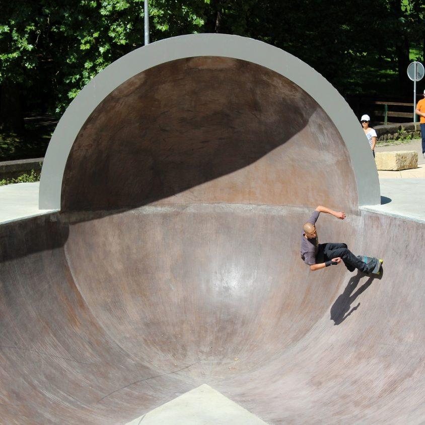 Parque de Skate en Luxemburgo 10