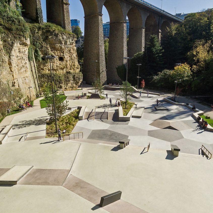 Parque de Skate en Luxemburgo 15