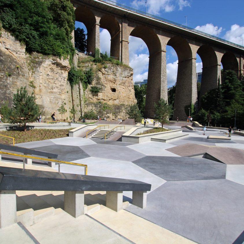 Parque de Skate en Luxemburgo 24