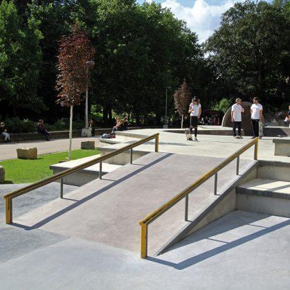 Parque de Skate en Luxemburgo 22
