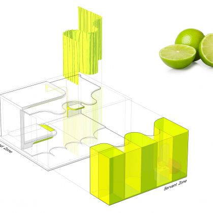 Lime Flavor, una suite futurista 3