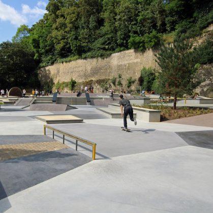 Parque de Skate en Luxemburgo 21