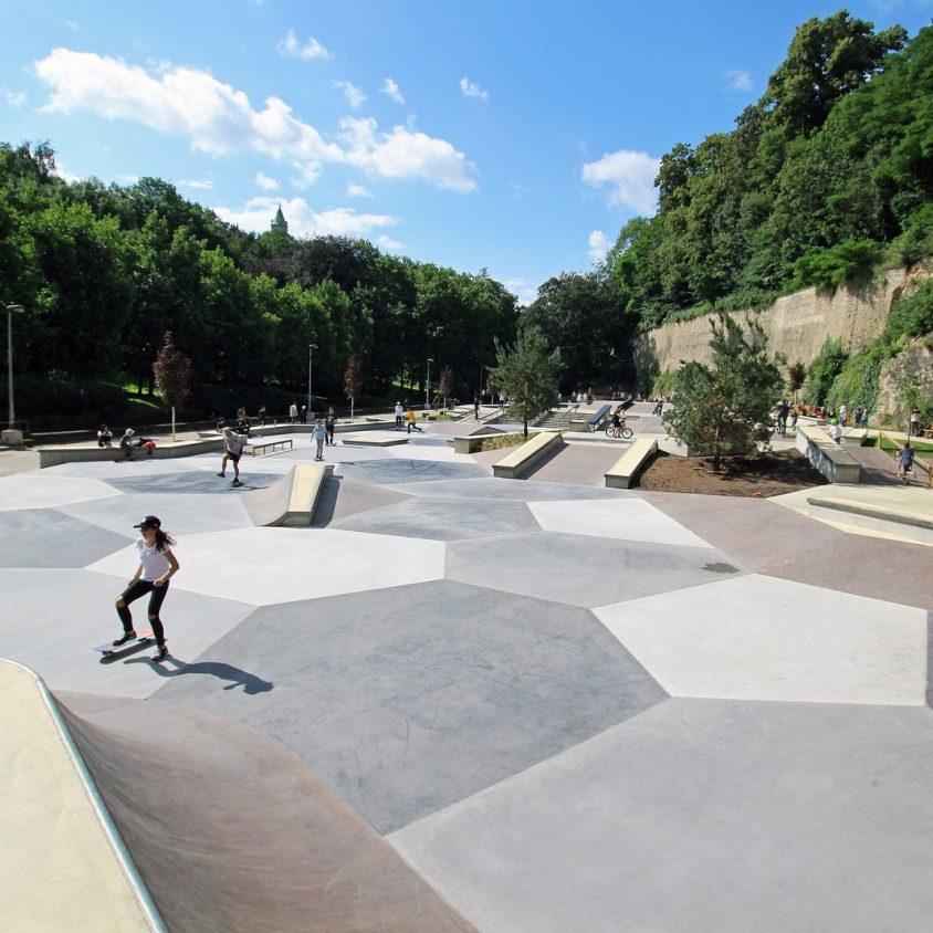 Parque de Skate en Luxemburgo 20
