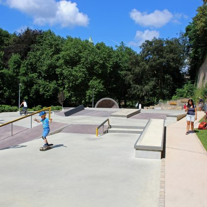 Parque de Skate en Luxemburgo 13