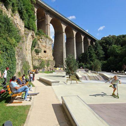 Parque de Skate en Luxemburgo 14