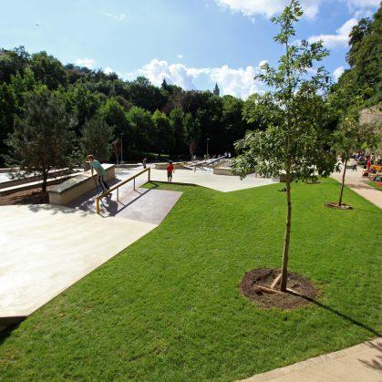 Parque de Skate en Luxemburgo 18