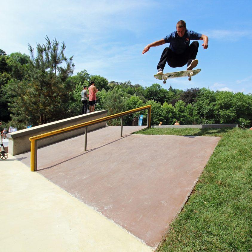Parque de Skate en Luxemburgo 11