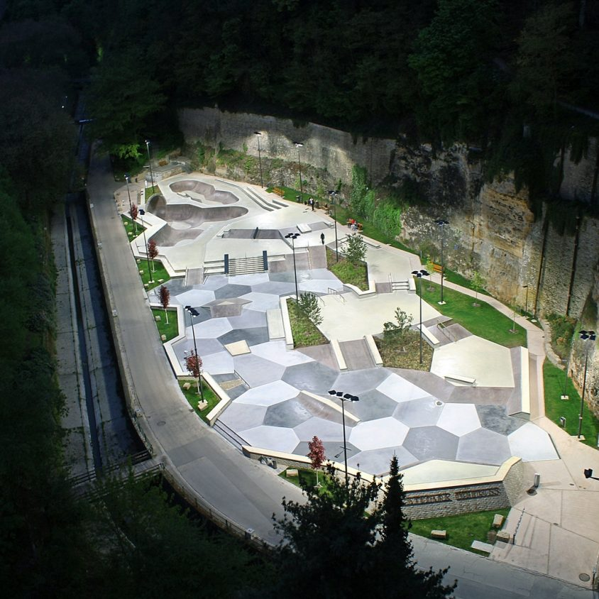 Parque de Skate en Luxemburgo 26