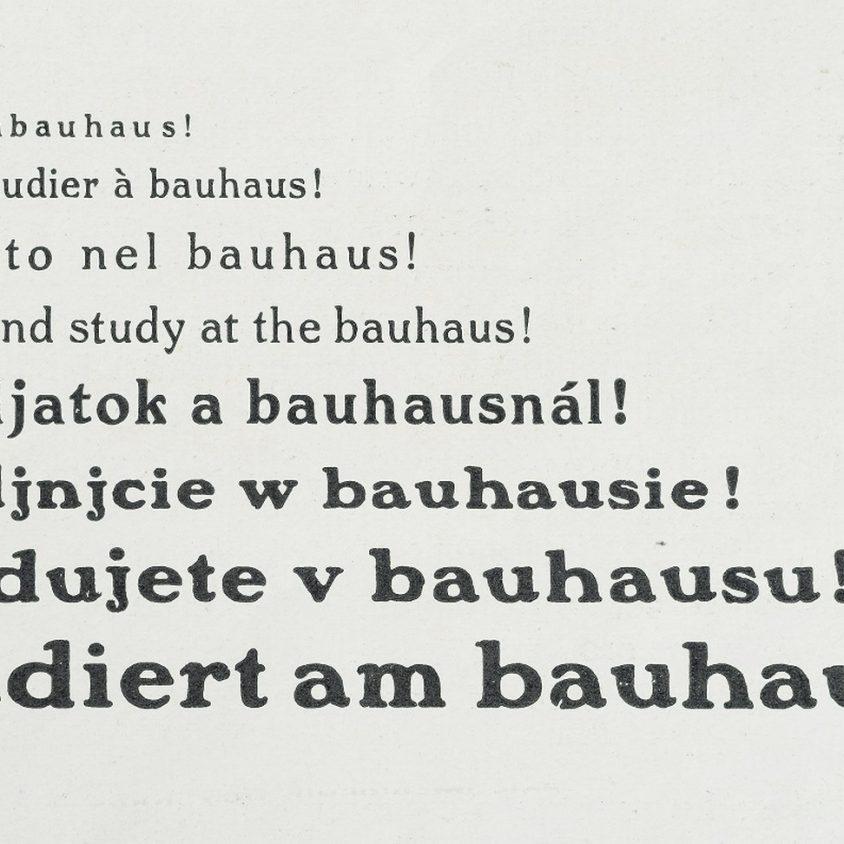 El mundo entero es una Bauhaus 16