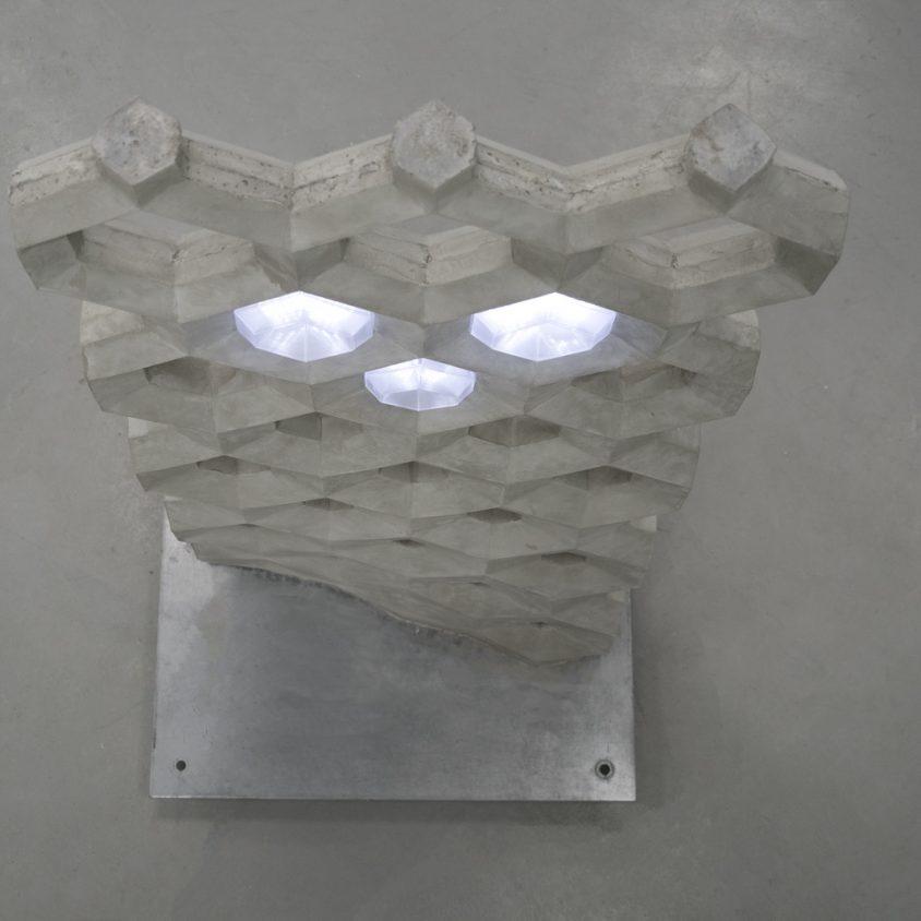Muro de hormigón inteligente 2