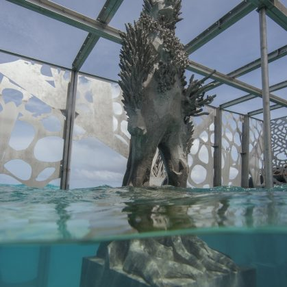 The Sculpture Coralarium, un museo en el agua 22
