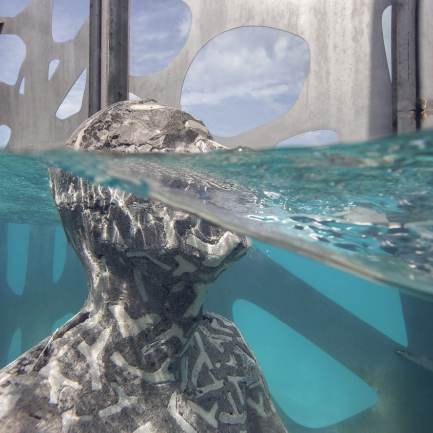 The Sculpture Coralarium, un museo en el agua 20
