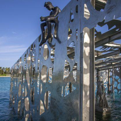 The Sculpture Coralarium, un museo en el agua 12