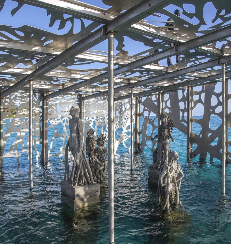 The Sculpture Coralarium, un museo en el agua 28