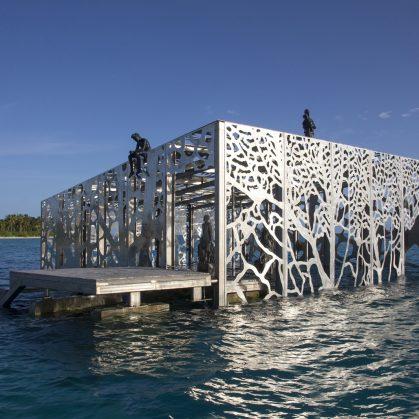 The Sculpture Coralarium, un museo en el agua 11