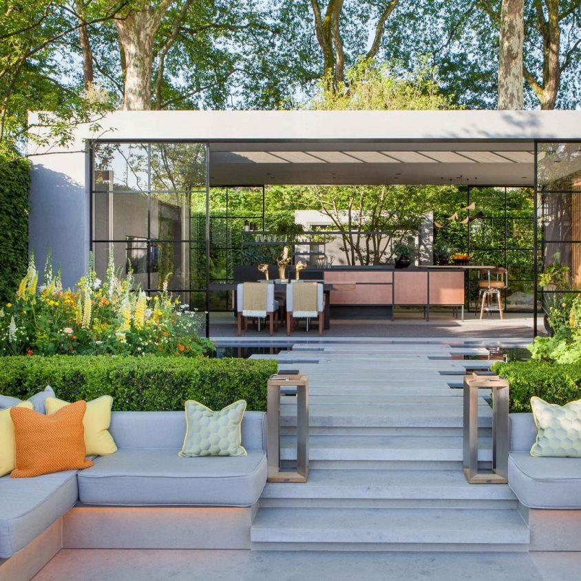 """El jardín innovador """"Eco - City"""" 1"""