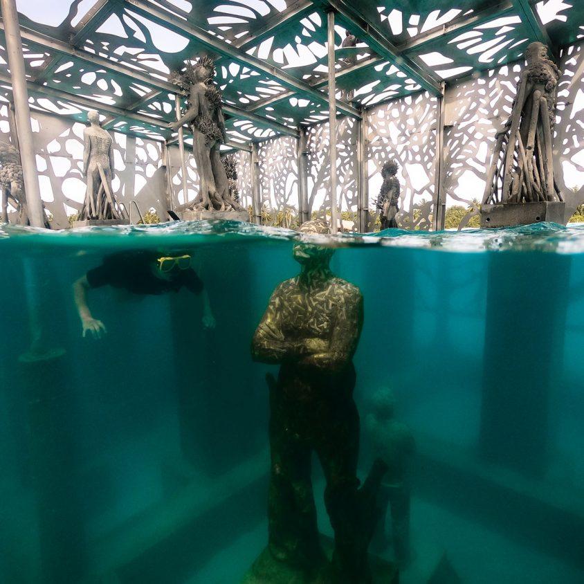 The Sculpture Coralarium, un museo en el agua 14