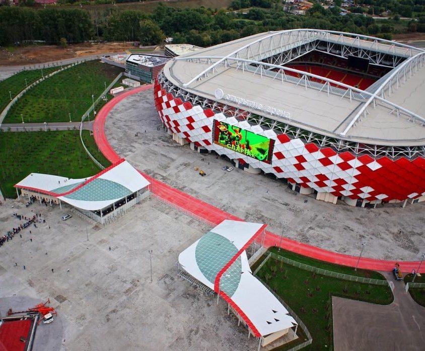 Los estadios del Mundial de Rusia 2018 2