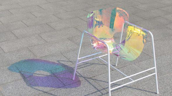 Una silla completamente novedosa 18