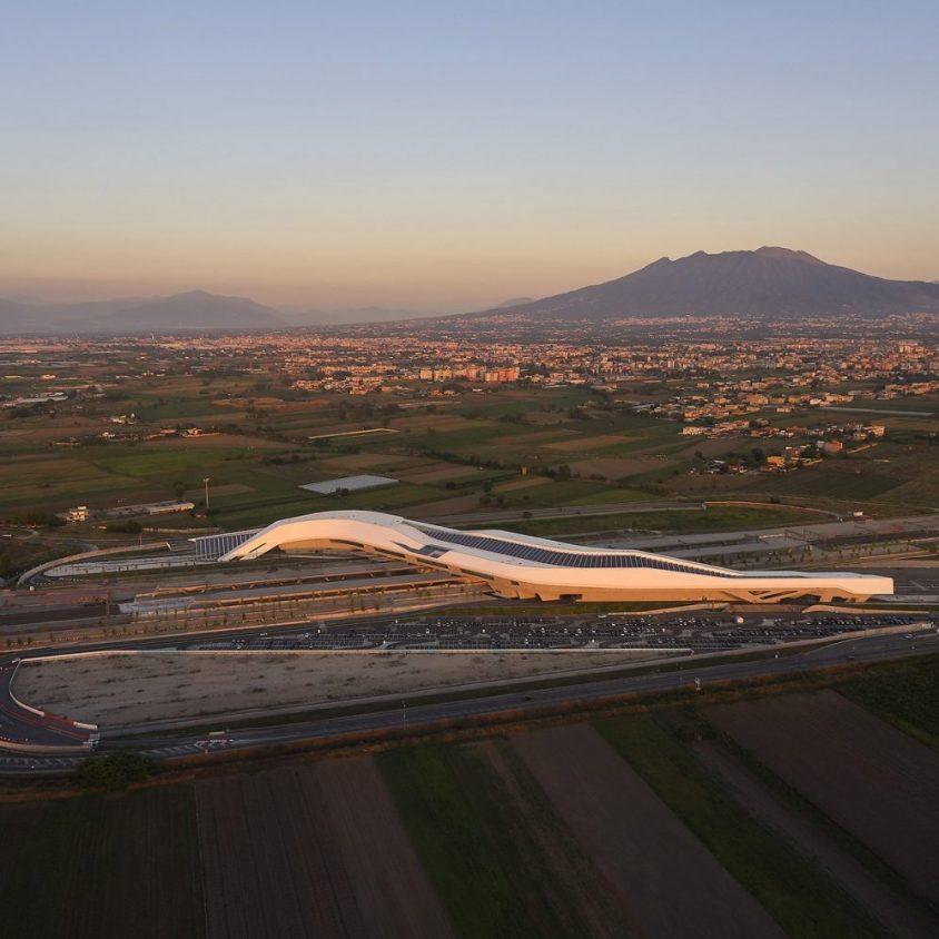 La estación Napoli Afragola está lista 3