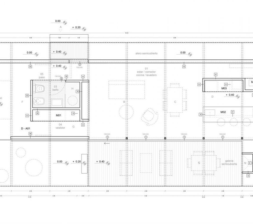 Una casa de 70 m² en El Maitén 3
