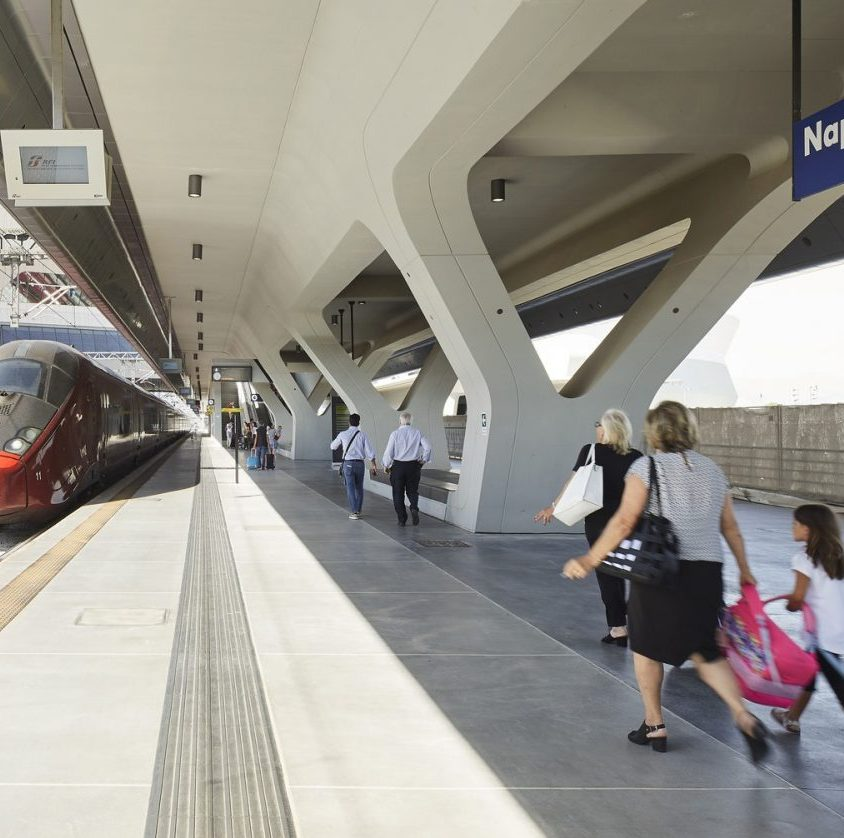 La estación Napoli Afragola está lista 13