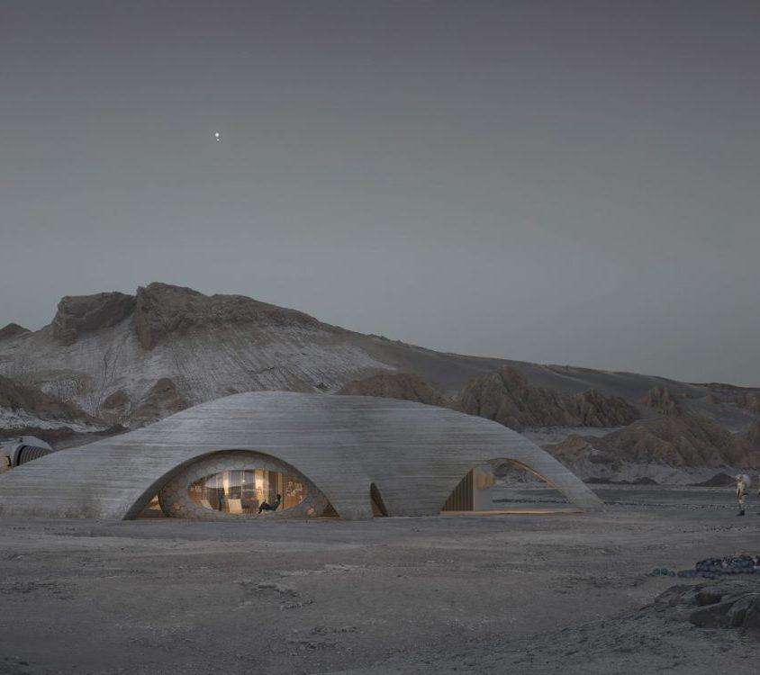 El proyecto de Hassell para habitar Marte 1