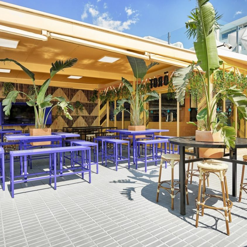 El remodelado Bar TORÖ en Ibiza 2