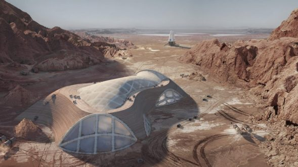 El proyecto de Hassell para habitar Marte 11