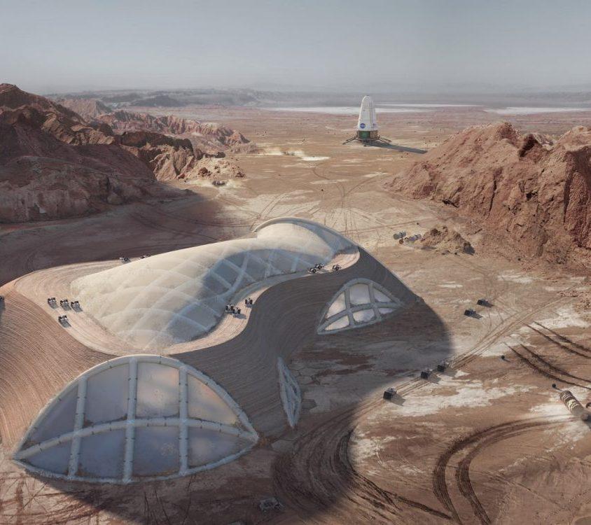 El proyecto de Hassell para habitar Marte 2