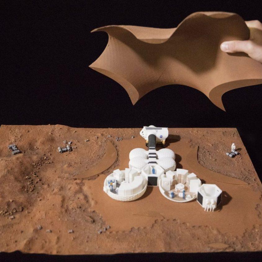 El proyecto de Hassell para habitar Marte 3