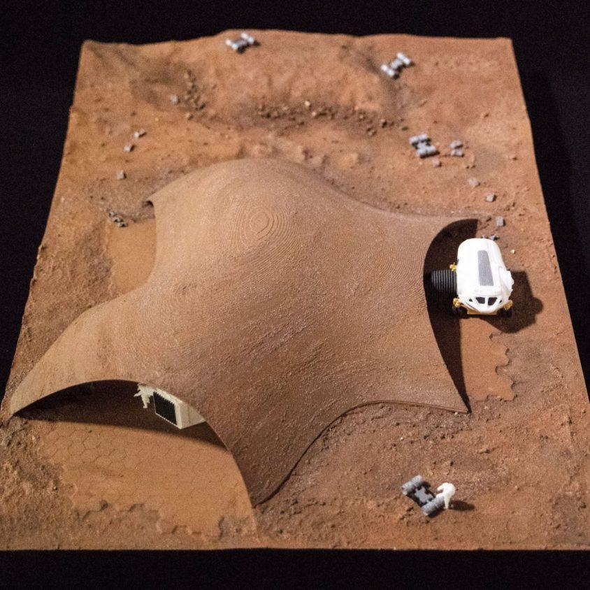 El proyecto de Hassell para habitar Marte 5