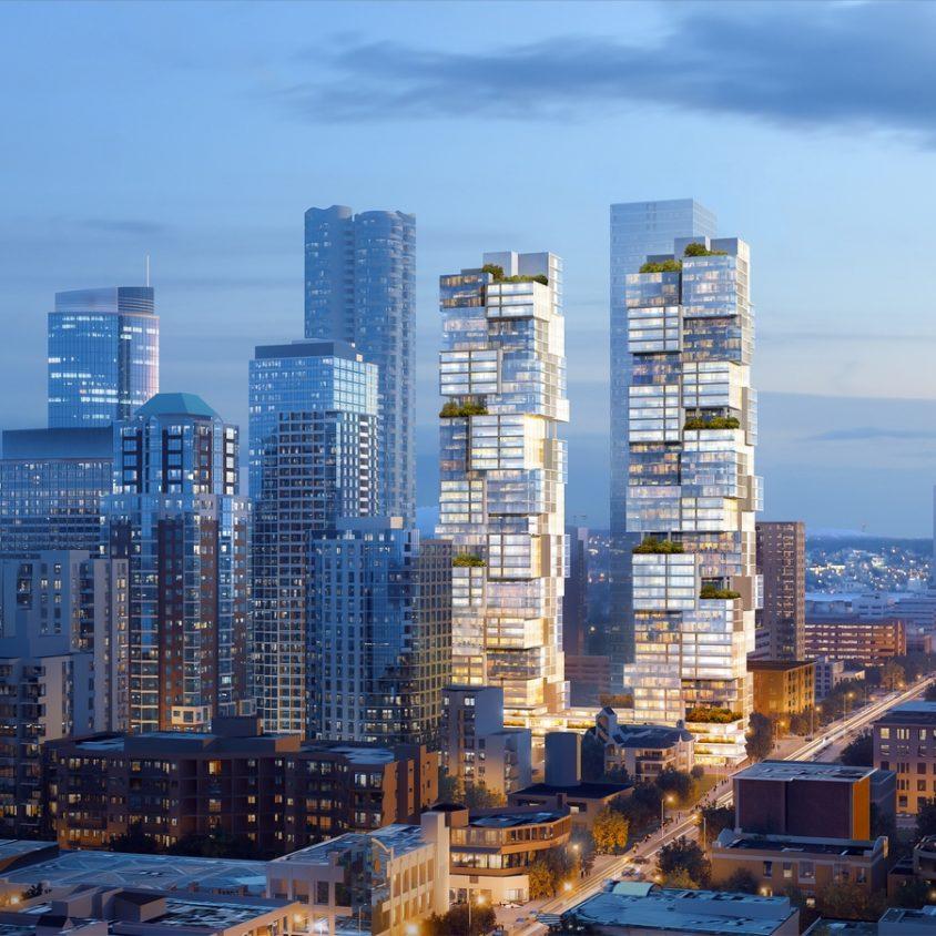 Las torres gemelas residenciales de Vancouver 4