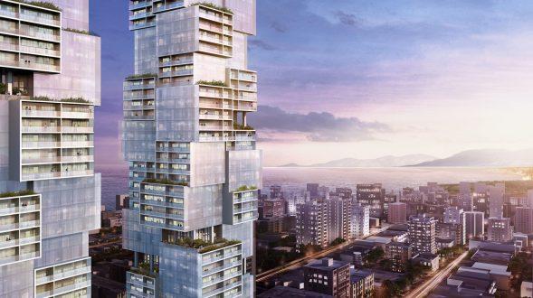 Las torres gemelas residenciales de Vancouver 15