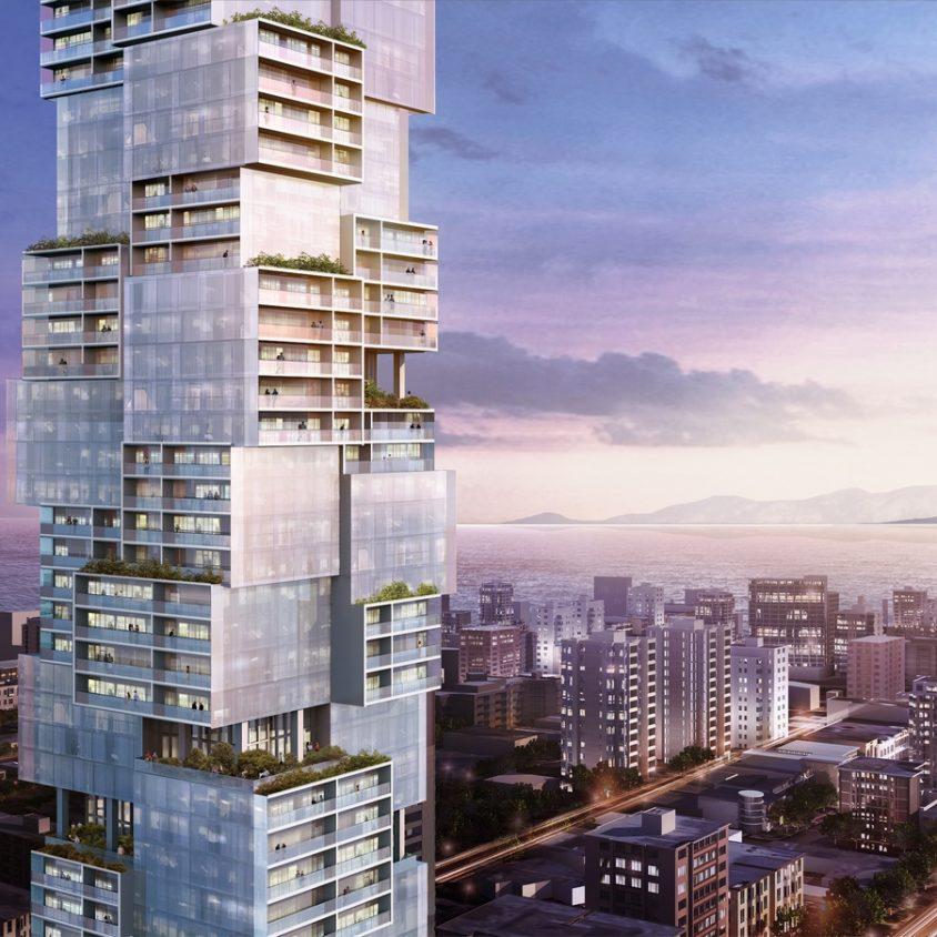 Las torres gemelas residenciales de Vancouver 7