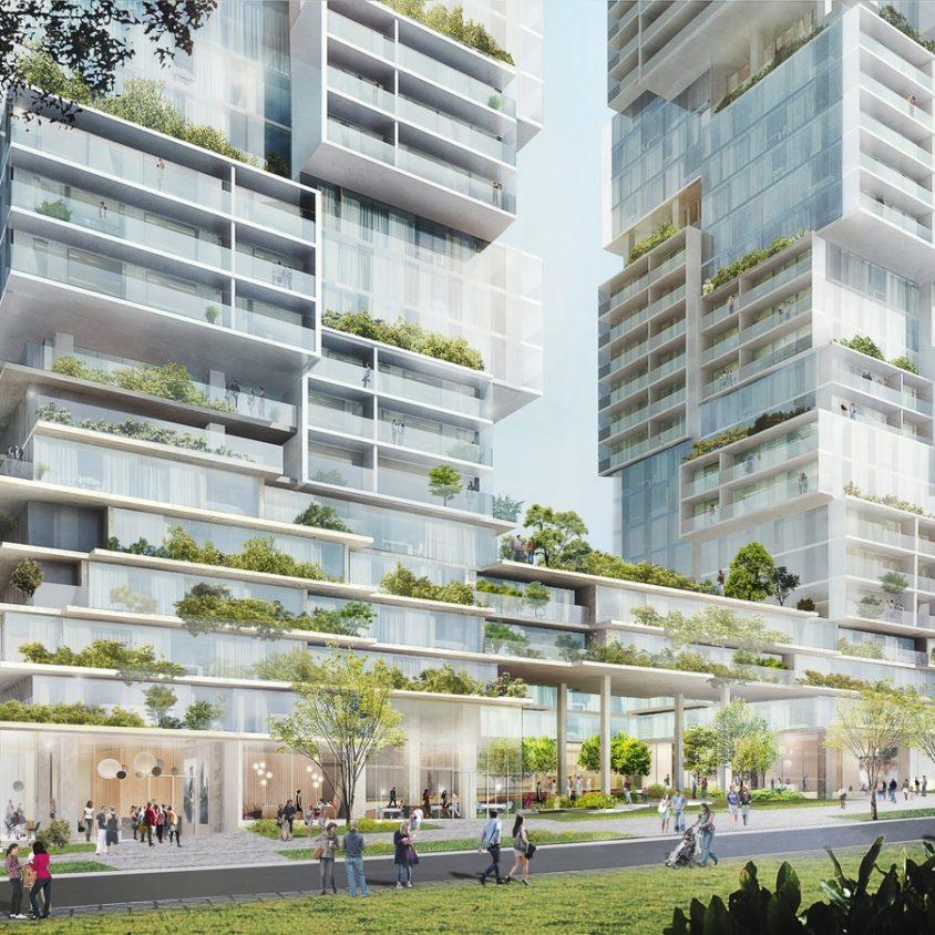 Las torres gemelas residenciales de Vancouver 5