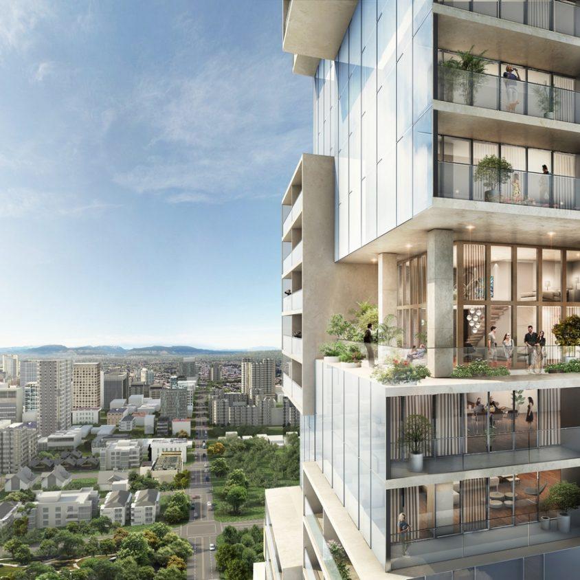 Las torres gemelas residenciales de Vancouver 6