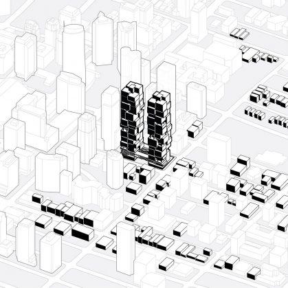 Las torres gemelas residenciales de Vancouver 2