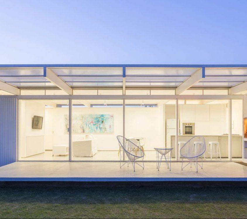 Una casa de 70 m² en El Maitén 19