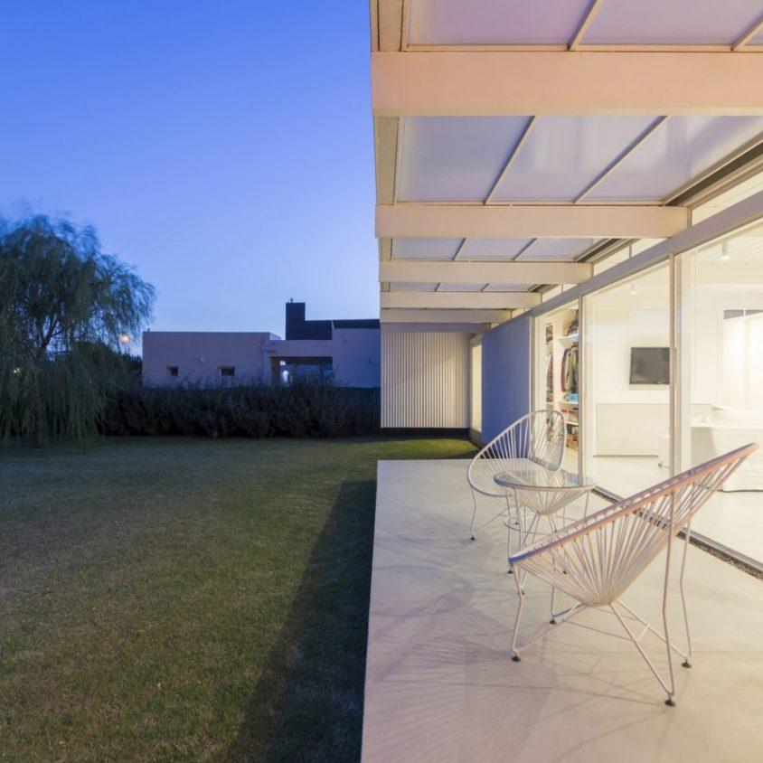 Una casa de 70 m² en El Maitén 21