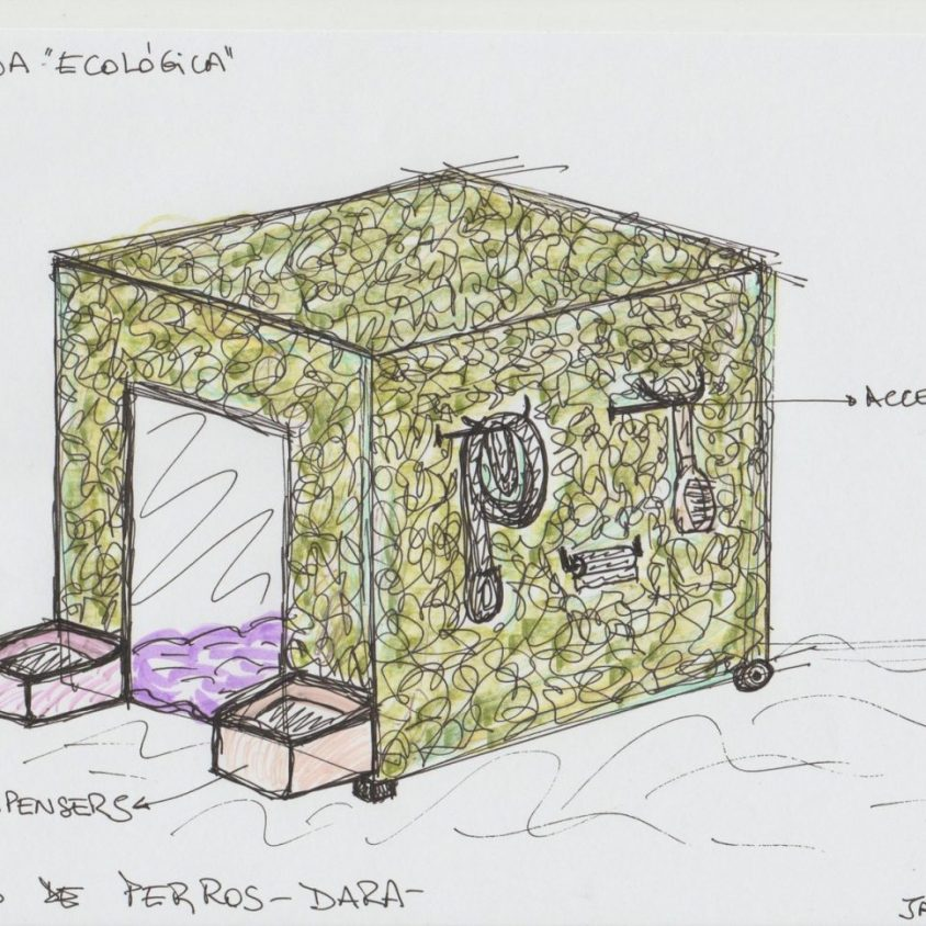 """DArA presenta la muestra """"Casas de perros"""" 6"""