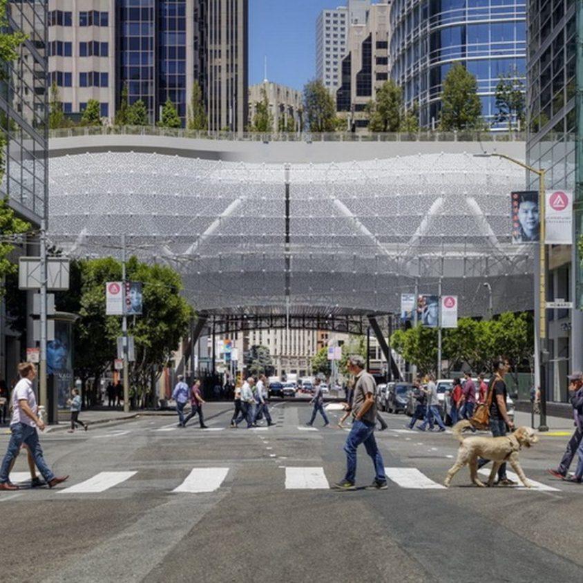 El núcleo del transporte es Salesforce Transit Center 2