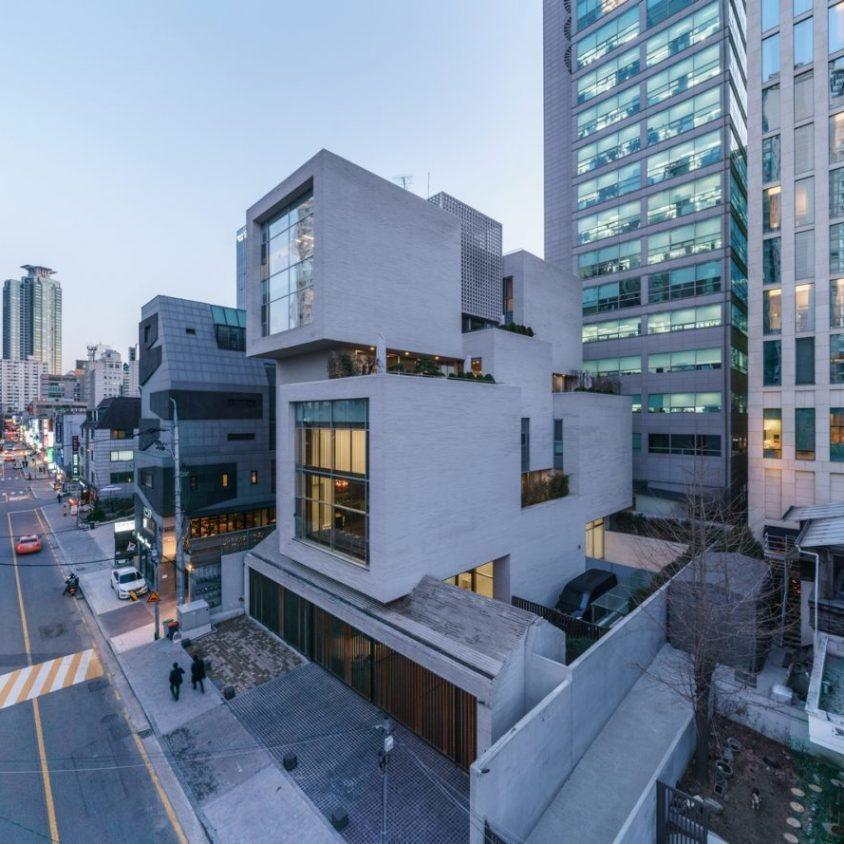 WAP Art Space, un edificio de uso mixto 1